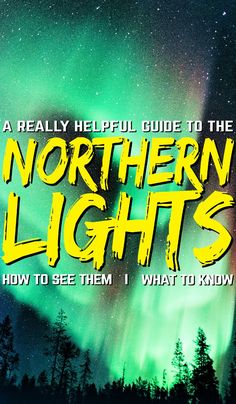 The northern lights are SO stunning — you've probably heard that before but there's a reason why so many people are saying the same thing. But it can be hard to catch and enjoy properly. Here is your ultimate northern lights guide to see the aurora lights in all their glory. #northernlights #auroralights #northernlightsguide #aurora #auroraborealis #norway #norwaynorthernlights
