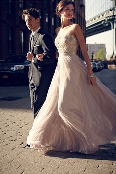 Lucca Maxi in Bride Reception Dresses at BHLDN *** Repined by www.TuxandVeils.com ***
