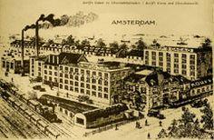Chocoladefabriek Amsterdam. Nederland belangrijke speler op chocoladetoneel.
