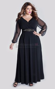 Trendy Fashion Wedding : Long Plus Size Bridesmaid Dresses Trendy Style 2016