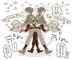 V Cute, Cute Art, Handsome Anime Guys, Identity Art, Fun Comics, No Name, Pretty Art, Fujoshi, Fan Art