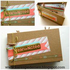 Karen Pedersen: Simply Inspired Blog Hop: Noted Paper Kit