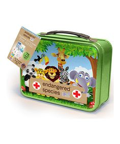 Look what I found on #zulily! Endangered Species 75-Piece First Aid Kit by Ouchies #zulilyfinds