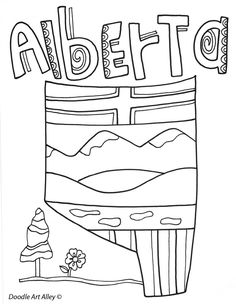 Canada Coloring Pages and Printables - Classroom Doodles Teaching Aids, Teaching Social Studies, Canada For Kids, Canada 150, Geography Of Canada, Happy Canada Day, Canadian History, Usa Tumblr, Project Based Learning
