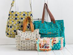 1141 Two Bags & Sherry Clutch PDF Pattern - New Release Sale! 55% Off!