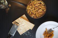 Pennne rigate alla vodka – pasta med vodka