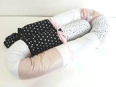 Grey stars developmental soft toy long pillow baby shower gift idea baby cot bumper cute bed bumper snake pillow baby crib bumper