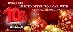 Email - info@openwavecomp.com.my  Call- +60 169185667  Coupon Code: OWC-HolidaySP  🎅🍭🎄