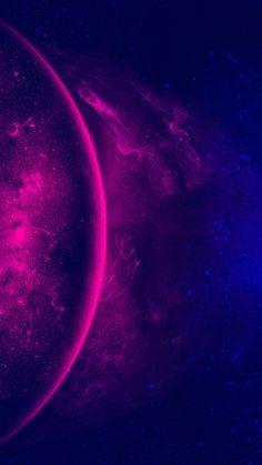 Purple and Blue Galaxy Wallpaper