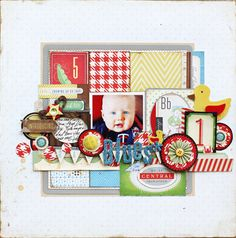 Crate paper - with the new baby boy line...love