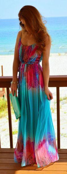 Vestidos para usar em casamentos na praia - beach wedding - party dress