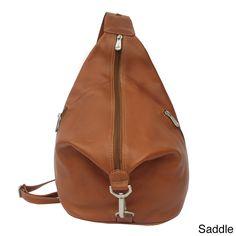 Piel Three-Zip Hobo Sling Backpack                                                                                                                                                      More