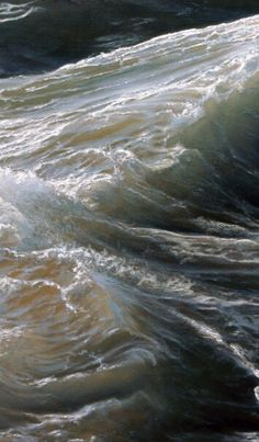 """Swell "" - oil on canvas ( detail ), Ran Ortner ( 2006)"