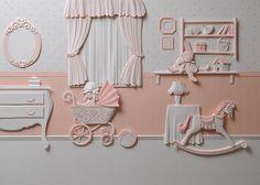 Чудесные аппликации от Carlos Meira - Ярмарка Мастеров - ручная работа, handmade