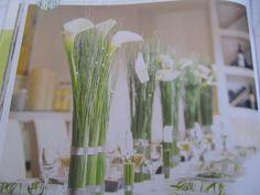 Bsp für Calla mit Gräsern aber ohne Bambus und Vase by schmadde74, via Flickr