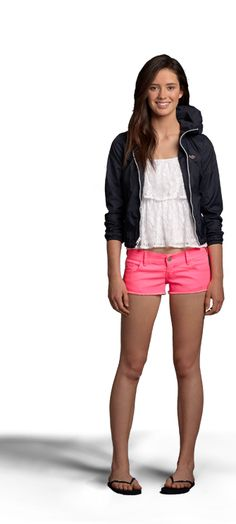 Just bought those shorts today. :) They're so cute and very bright!