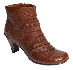 3a20a33d58c Get the must-have boots of this season! These Gentle Souls Ruched Leather  Ankle Brown Boots are a top 10 member favorite on Tradesy.