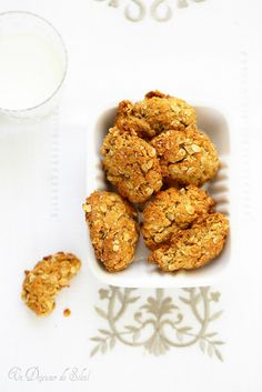 Biscuits aux flocons d'avoine et miel façon Anzac