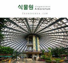 식물원 is arboretum and pronounced as [싱물원]. The one on the picture is Yeomiji arboretum in Jeju Island. Seeing this makes me want to visit ><   || Our Website : http://saungkorea.com