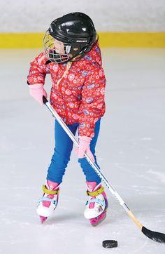 Habillez les enfants de plusieurs couches de vêtements. #hiver #patinage