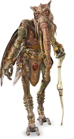 #MidweekPedia  POGGLE the LESSER / Leader of the Geonosians  DESCRIPTION: was the Archduke of Geonosis before and during the Clone Wars, and was a leading member of the Separatist Council. He would later be killed by Darth Vader, along with the rest of the Council, on Mustafar at the conclusion of the conflict in 19 BBY. As planetary leader of the Geonosians and a member of the Techno Union, Poggle controlled the vast droid factories found on his planet.