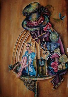 Alice liddell (splintered) by alien89982.deviantart.com on @deviantART