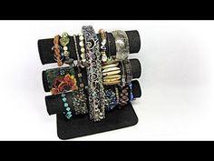 Organizador de pulseras. Bracelets organizer. - YouTube