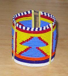African Maasai bracelet - Bracelet africain Massai (Timeless Fineries) African Bracelets, Textiles, Friendship Bracelets, Etsy, Jewlery, African Patterns, African Masks, Tribal Jewelry, Ethnic Jewelry