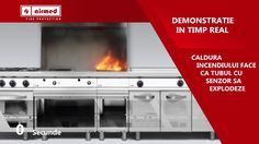 Instalatii Detectare si Stingere Incendiu | Bucatarii profesionale | Airmed
