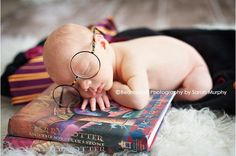 Newborns Who Really Nailed Their First Photo Shoot -- Tiny Wizard:  --  Sarah Murphy Photography via photos.beansproutphotography.com