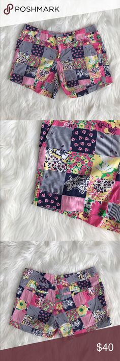 • Lilly Pulitzer • Ain't No Lady Callahan Shorts - Lilly Pulitzer  - Ain't No Lady Bug - Callahan Shorts - Size 4  - Excellent Condition Lilly Pulitzer Shorts