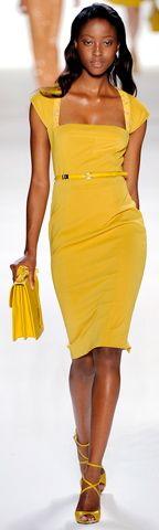 #Vestido #Amarillo
