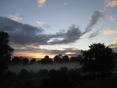 Anthony J Sargeant photographed this Shropshire Dawn