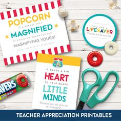 2017 LDS Primary Teacher Appreciation Ideas! These are so cute and easy to put together!