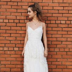 don't follow the trends, set them. be an #aandberealbride.   dress by: anais anette