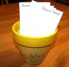 homemade garden gifts