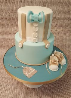 Baby Shower Cake Purple Pearl Celebration and Fantasy Cake: Little Victory Cake Torta Baby Shower, Baby Shower Cakes For Boys, Baby Boy Cakes, Baby Boy Shower, Boys First Communion Cakes, Baby Girl Christening Cake, Dummy Cake, Fantasy Cake, Cupcakes For Boys