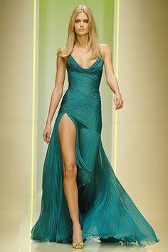 Versace Fall 2005 Ready-to-Wear Fashion Show - Daria Werbowy