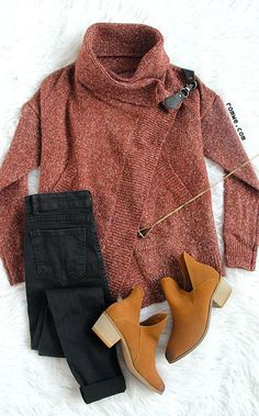 Red Lapel Long Sleeve Ouch Cardigan Sweater
