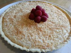 My mum's favourite pudding is a Manchester Tart. She told me it reminds her of her school days as it was often a pudding they would serve . Dessert Dishes, Fun Desserts, Dessert Recipes, Awesome Desserts, Tart Filling, Custard Filling, Manchester Tart Recipes, Pastry Recipes, Baking Recipes