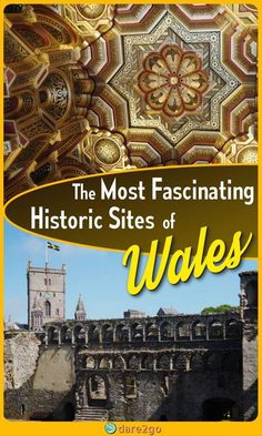 Appreciate the diverse history of wales by visiting ancient burial sites, Roman ruins, and castles, churches or abbeys, whether in ruins or restored. Europe Travel Guide, Travel Guides, Travelling Europe, European Destination, European Travel, Scotland Travel, Ireland Travel, History Of Wales, Places To Travel