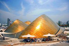 Emiratos Árabes Unidos Pabellón diseñado por Norman Foster
