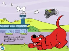 Join Clifford the Big Red Dog™ for a BIG reading adventure on the iPad!  Read as Clifford learns about all kinds of moving vehicles such as a truck, a plane, train and more!