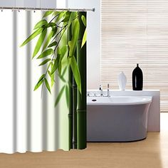 InterDesign Waterproof Mold and Mildew-Resistant Fabric Shower Curtain - Extra Long, 72-Inch by 96-Inch, White
