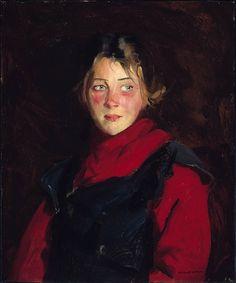 Irish Girl, by Robert Earle Henri