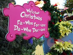 Whoville sign - Google Search