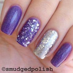 Instagram photo by smudgedpolish #nail #nails #nailart #manicure