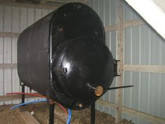 Outdoor wood boilers have become a popular option in the cold country for heating the home. The advantage is that you keep all the smoke, mess, and fire danger. Woodworking Guide, Custom Woodworking, Woodworking Projects Plans, Outdoor Wood Furnace, Outdoor Stove, Bois Diy, Rocket Stoves, Wood Burner, Welding Projects