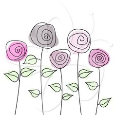 Rose Garden Clipart set - Great for Scrapbooking, Cardmaking and Paper Crafts.Wild Rose Garden Clipart set - Great for Scrapbooking, Cardmaking and Paper Crafts.