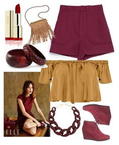 """Burgundy & Mustard"" by chanlee-luv ❤ liked on Polyvore featuring maurices, Zara, Tejido, Patchington, NOVICA and DIANA BROUSSARD"